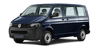 VW Transporter Automatique ou similaire - 9 places (Z)